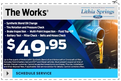 Ford Service Specials Lithia Springs Ga Ford Parts Specials Lithia Springs Ford